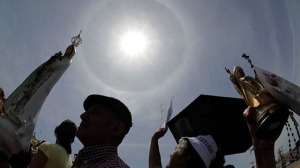 May 13: Solar Halo Impresses Crowed at Fatima